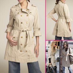 Juicy Couture tan Trench Coat